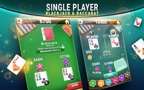 Game Asyik Dimainkan Blackjack & Baccarat - Casino Card