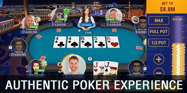 Sohoo Poker - Texas Holdem Game Asyik Dimainkan